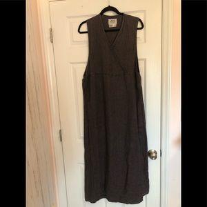 FLAX Jeanne Engelhart Maxi Dress Jumper Medium